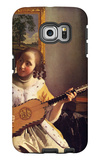 The Guitar Player Galaxy S6 Edge Case by Jan Vermeer