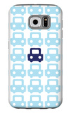 Blue Parking Lot Galaxy S6 Case by  Avalisa