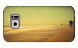 Golden Beach Landscape Galaxy S6 Case by Jan Lakey