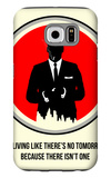 Draper Poster 2 Galaxy S6 Case by Anna Malkin
