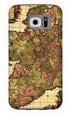 Ireland - Panoramic Map Galaxy S6 Case by  Lantern Press