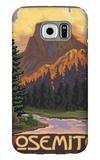 Half Dome, Yosemite National Park, California Galaxy S6 Case by  Lantern Press