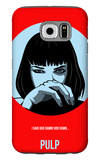 Pulp Poster 1 Galaxy S6 Case by Anna Malkin