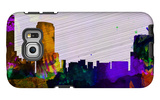 Grand Rapids City Skyline Galaxy S6 Edge Case by  NaxArt