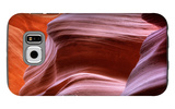 Antelope Canyon Abstract - Tri Color Galaxy S6 Case by Vincent James