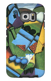 Landscape with Houses in Céret Galaxy S6 Edge Case by Juan Gris