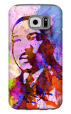 Martin Luther King Watercolor Galaxy S6 Case by Anna Malkin