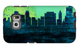 Tulsa City Skyline Galaxy S6 Edge Case by  NaxArt