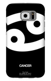 Cancer Zodiac Sign White Galaxy S6 Case by  NaxArt