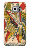 Jack of Diamonds Card Galaxy S6 Case