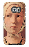Woman's Head Frontally Galaxy S6 Edge Case by Georges de La Tour