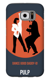 Daddy-O Poster 2 Galaxy S6 Case by Anna Malkin