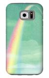 Rainbow in Bright Sky Galaxy S6 Case