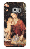 Mary with Child Galaxy S6 Edge Case by Peter Paul Rubens