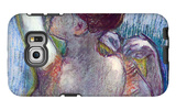 The Green Dancer Galaxy S6 Edge Case by Edgar Degas