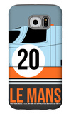 Le Mans Poster 2 Galaxy S6 Case by Anna Malkin