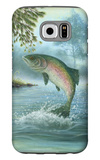 Rainbow Trout Jumping Galaxy S6 Case
