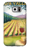 Napa Valley, California Wine Country Galaxy S6 Case by  Lantern Press