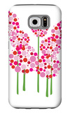 Pink Allium Galaxy S6 Case by  Avalisa