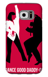 Dance Good Poster 2 Galaxy S6 Case by Anna Malkin