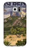 Big Bend National Park, Texas - Casa Grande Galaxy S6 Case by  Lantern Press