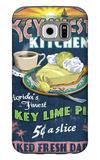 Key West, Florida - Key Lime Pie Galaxy S6 Case by  Lantern Press