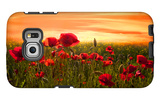 Red Galaxy S6 Edge Case by Marco Carmassi
