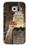 Manhattan Illuminated Galaxy S6 Case by Paulo Romero