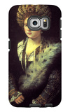 Isabella in Black Galaxy S6 Edge Case by  Titian