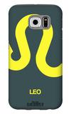 Leo Zodiac Sign Yellow Galaxy S6 Case by  NaxArt
