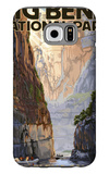 Big Bend National Park, Texas - Santa Elena Canyon Galaxy S6 Case by  Lantern Press