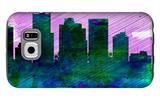 Phoenix City Skyline Galaxy S6 Case by  NaxArt