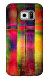 Art Abstract Colorful Background Galaxy S6 Case by Irina QQQ