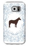 Blue Stallion Galaxy S6 Case by  Avalisa