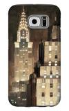 Manhattan Aglow Galaxy S6 Case by Paulo Romero