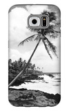 Hawaii - Palms along the Beach Galaxy S6 Case by  Lantern Press