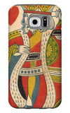 King of Hearts Card Galaxy S6 Case