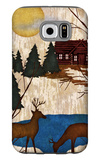 Cabin in the Woods I Galaxy S6 Case by Nicholas Biscardi