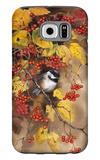 Bird on Branch Galaxy S6 Case