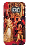 Medici Marriage in Florence Galaxy S6 Edge Case by Peter Paul Rubens