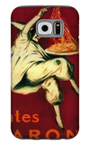 Pates Baroni Vintage Poster - Europe Galaxy S6 Case by  Lantern Press