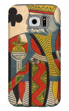 King of Clubs Card Galaxy S6 Case