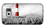 Lighthouse Border Galaxy S6 Case by Anna Coppel