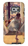 Three Dancers in a Practice Room Galaxy S6 Edge Case by Edgar Degas