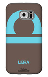 Libra Zodiac Sign Blue Galaxy S6 Case by  NaxArt