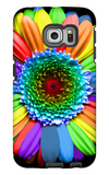Rainbow Flower Galaxy S6 Edge Case by Magda Indigo