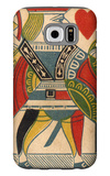 Jack of Hearts Card Galaxy S6 Case