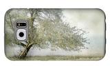 Tree in Field of Flowers Galaxy S6 Case by Mia Friedrich