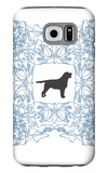 Blue Lab Frame Galaxy S6 Case by  Avalisa