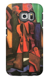 Violin and Guitar Galaxy S6 Edge Case by Juan Gris